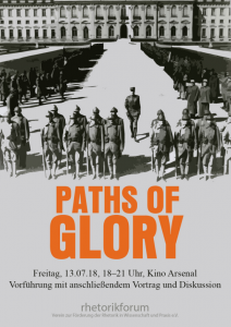 Rhetorik & Film: Paths of Glory (1957) @ Kino Arsenal